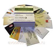 Изготовление визиток, печать объявлений фото