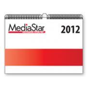 Настенный календарь перекидной ламинированный фото