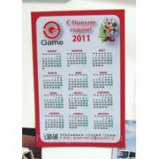 Календарик магнитный фото