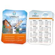 Изготовление карманных календарей, карманные календари в Краснодаре, печать карманных календарей