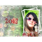 Календарь настенный плакат фото