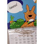 Именные настенные календари фото