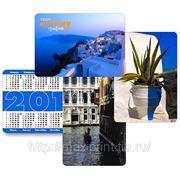 Календарик карманный на 2011 год, формат 70*100мм с ламинированием фото