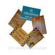 Печать рекламных листовок в Санкт-Петербурге фото