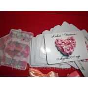 Изготовление карманных календарей изготовление свадебных календариков в Липецке на заказ. фото
