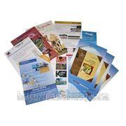 Печать буклетов, флаеров и рекламных листовок в Алматы! фото