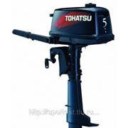Мотор подвесной лодочный Tohatsu M 5 BDS фото