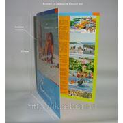 Буклет 300х200 мм (ф-А4), картон 250 гр/м2 фото