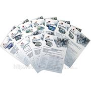 Чёрно-белая печать рекламных листовок формата А4 (цена за 1 сторону) хорошее качество фото