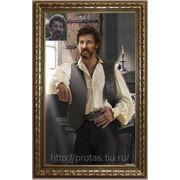 Мужской портрет, коллаж по фото, фотоколлаж