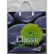 Пакет с пластмассовыми ручками Классик 5/10 фото