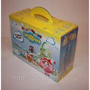 Упаковка из однослойного картона с логотипом Заказчика фото