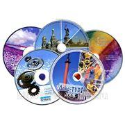 Печать на дисках CD / DVD фото