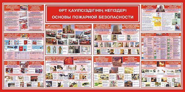 плакаты пожарной безопасности узбекистана