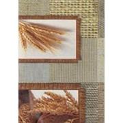 """Клеенка ДЕКОМИР арт.64-1 """"Хлеб"""", коричневый, 1,32х20м фото"""