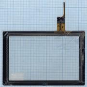 Сенсорное стекло (тачскрин) AD-C-100409-FPC черное, Диагональ 10.1 фото