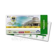 Печать билетов фото