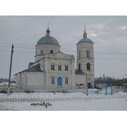 Перенос фотографии церкви на поверхность камня фото