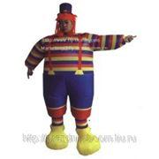 """Надувной костюм """"Клоун в полоску"""" фото"""