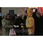 Раздача листовок в СПб фото