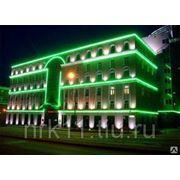 Подсветка зданий и сооружений в Калининграде фото