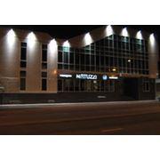 Подсветка здания фото