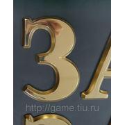 Буквы из латуни фото