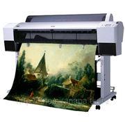 Широкоформатная печать на самоклейке. 1440 dpi фото