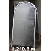Штендер арочный двухсторонний 1,2*0,8 м фото