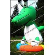 Надувная фигура. Форма: крокодил фото