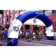 Надувная арка круглая большая. фото