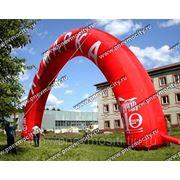 Надувная арка большая круглая «ярмарка» фото