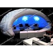Пневмо конструкции: мобильный купол фото