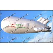 Рекламный газовый аэростат; форма: дирижабль фото