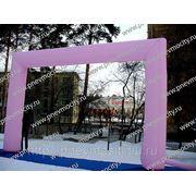 Надувная арка Розовая фото