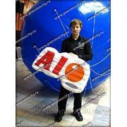POS материалы: форма: логотип «AIO» фото