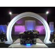 Надувная арка-112 фото