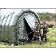 Надувной тент: мобильная палатка фото
