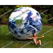 Рекламный шар: аэростат газовый «земной шар» фото