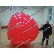 Рекламный шар: форма яблоко фото