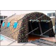 Надувной тент: пневмокаркасная палатка фото