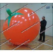 Рекламный шар: форма томат фото