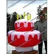 POS материалы: форма: торт фото