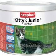Витамины для котят Kitty s Junior + Biotin 1 таблетка фото