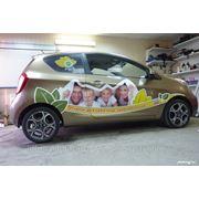 Наружное брендирование автомобиля фото