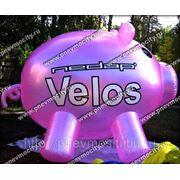 Рекламный шар: аэростат газовый, форма свинья фото