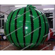 Рекламный шар: форма арбуз фото