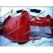 Надувной тент: воздушный шатер фото