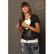 Жакет кожаный, пошив кожаных изделий фото