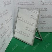Зеркало для обуви, зеркальное полотно 530х750Hмм, рама алюмин. профиль, ST-06 фото